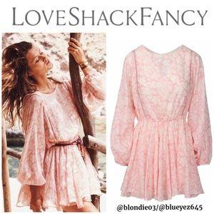 """Loveshackfancy """"Noelle"""" dress Seville print M"""